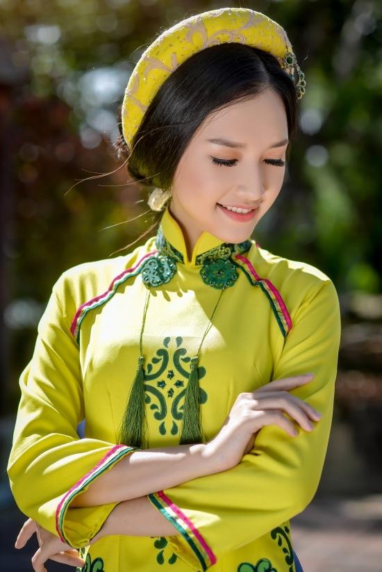 Gặp lại nữ sinh áo dài nổi tiếng nhất xứ Huế tại Hoa hậu Việt Nam 2016 - Ảnh 17.