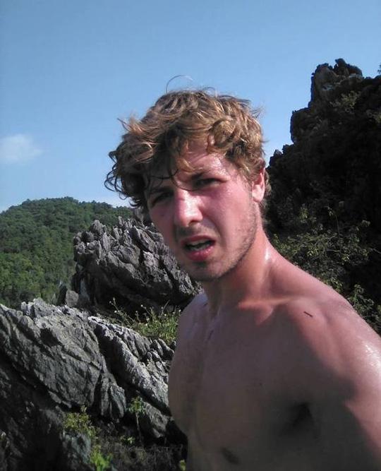 Anh Aiden Webb là một vận động viên leo núi chuyên nghiệp - Ảnh Facebook nhân vật