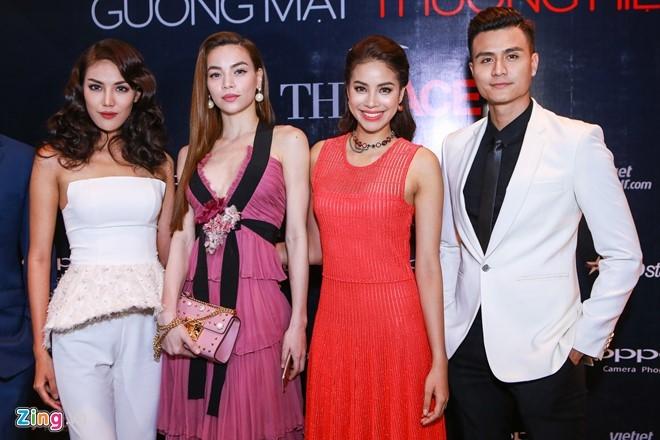 Ha Ho thay Pham Huong khong lep ve tren ghe nong The Face hinh anh 3