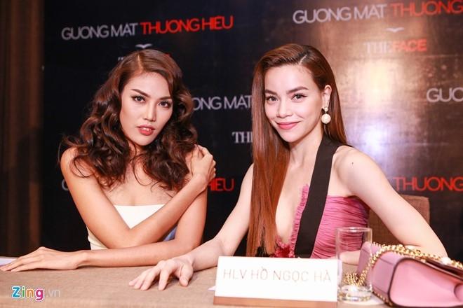 Ha Ho thay Pham Huong khong lep ve tren ghe nong The Face hinh anh 4