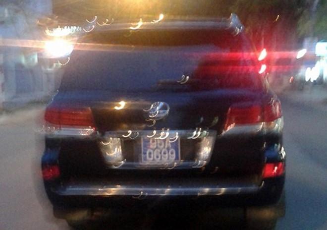 Lexus cua Pho chu tich tinh gan bien xanh ton kho hinh anh 1