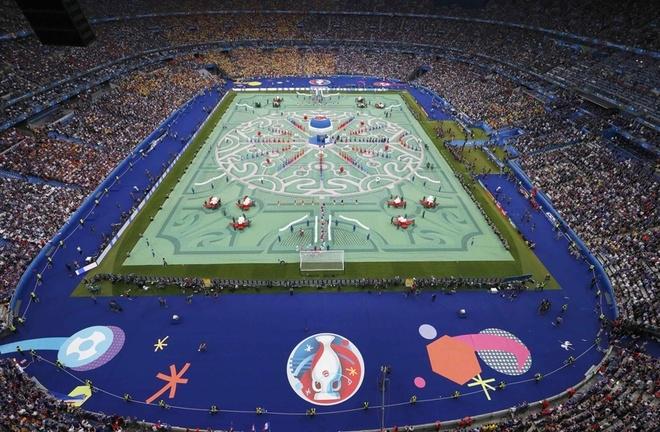 Màn khai hội Euro 2016 - ảnh thể thao