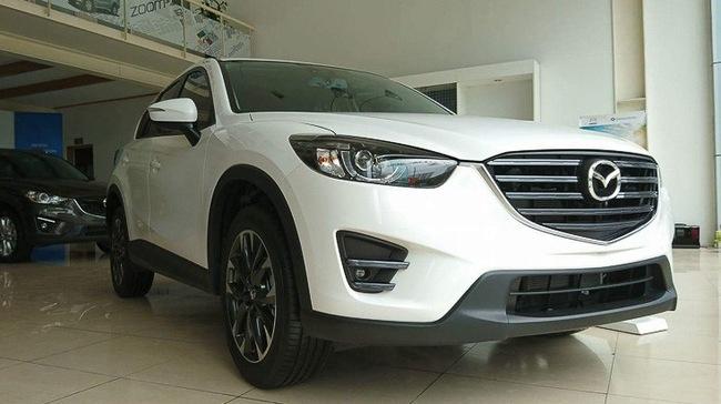 Mazda CX-5 bán chạy gấp đôi Honda CR-V