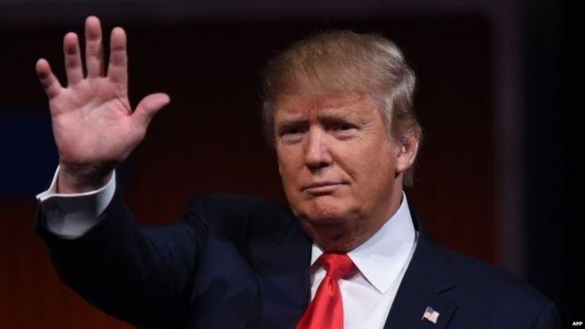 Nếu đắc cử, ông Donald Trump sẽ là tổng thống lớn tuổi nhất trong lịch sử Mỹ (Ảnh: AFP)