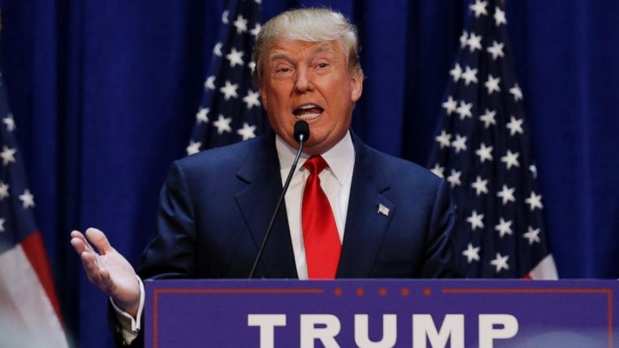 Tỷ phú Trump dày dặn kinh nghiệm thương trường, nhưng chưa có nhiều kinh nghiệm chính trị (Ảnh: ABC News)