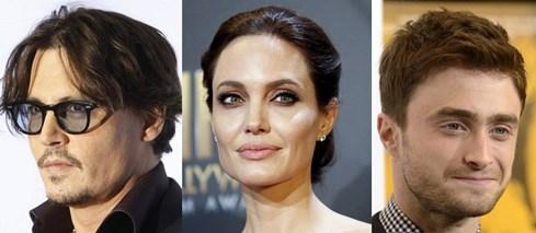 Johnny Depp, Angelina Jolie hay Daniel Radcliffe là những khách hàng lớn của UTA - Ảnh: Reuters