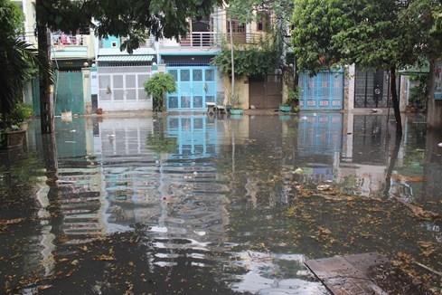 Mỗi lần mưa xuống, người dân tại đây rất ái ngại khi phải ra khỏi nhà