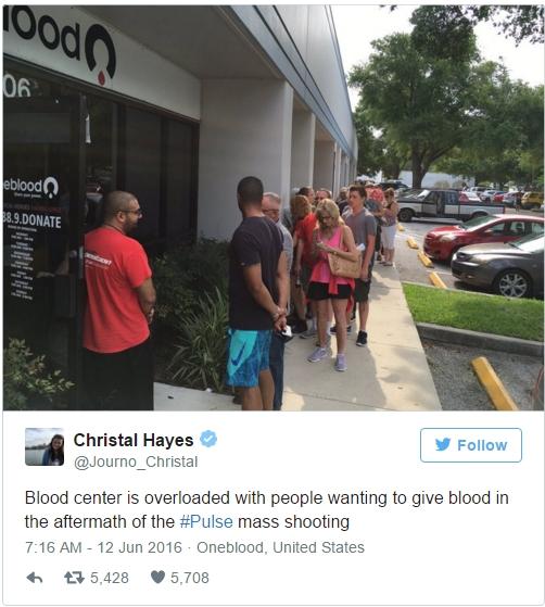Nước Mỹ khẩn thiết kêu gọi hiến máu cho nạn nhân vụ xả súng, nhưng từ chối lấy máu của người đồng tính - Ảnh 4.
