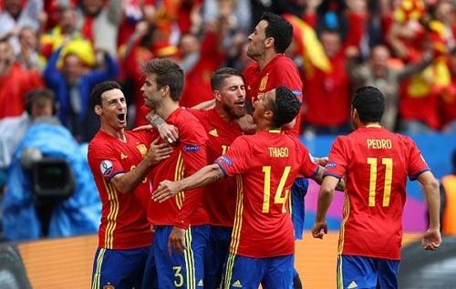 Tây Ban Nha - CH Séc: Cú đánh đầu 3 điểm - 1