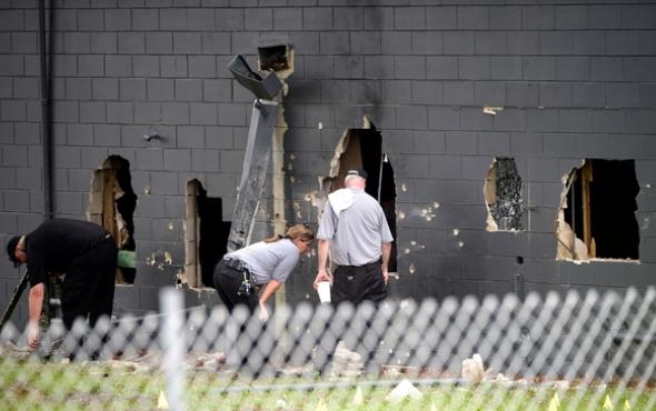Hiện trường vụ xả súng ở Orlando. (Ảnh: Getty)
