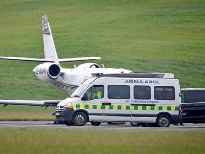 Trực thăng cấp cứu đưa á quân Judo Anh bị tai nạn tại Việt Nam về tới Scotland
