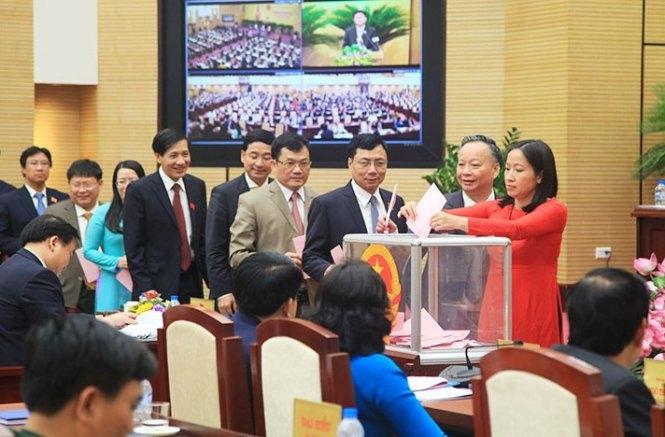 Bà Nguyễn Thị Bích Ngọc tái đắc cử Chủ tịch HĐND Hà Nội