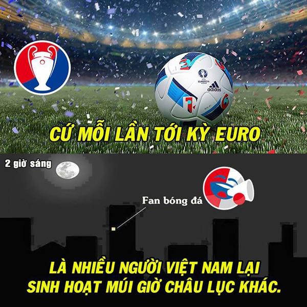 mặt trái, Euro 2016, cảnh báo mùa euro, bóng đá, giải bóng đá châu Âu 2016, cư dân mạng, ảnh chế