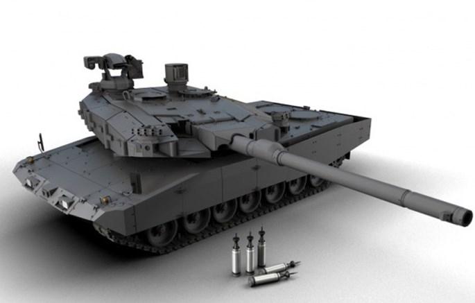 Đức chế tạo loại pháo tăng có thể hạ siêu xe tăng Armata Nga - ảnh 2