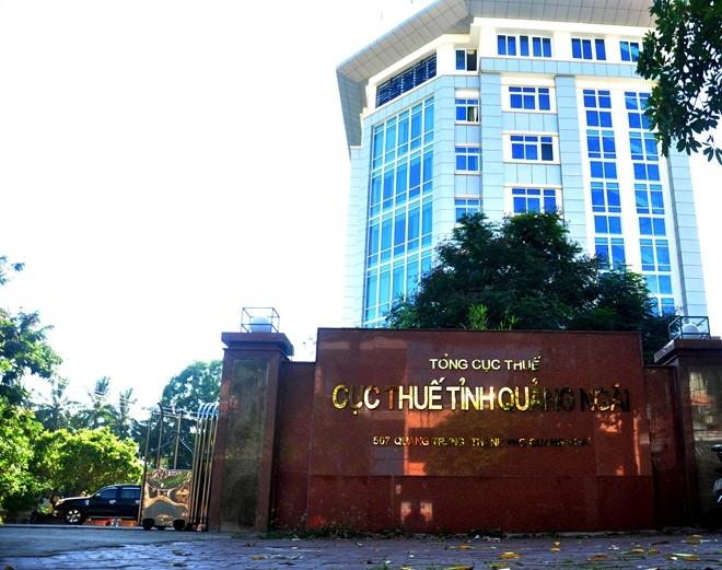 Quang Ngai beu ten 14 doanh nghiep no thue tien ty hinh anh 1