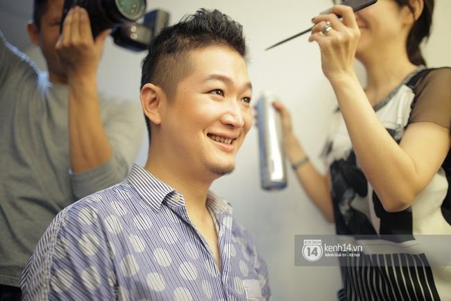 Thanh Hằng táo bạo khoe vòng 1 siêu gợi cảm, Lý Quí Khánh ma quái với tóc hồng - Ảnh 13.