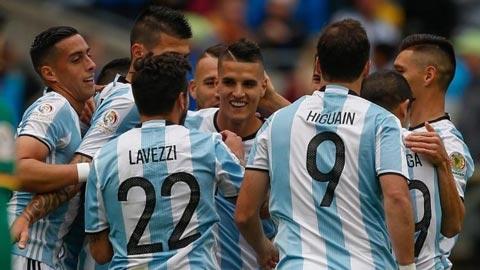 Argentina 3-0 Bolivia: Vào tứ kết với tư cách đầu bảng
