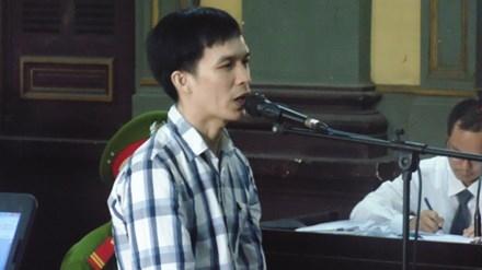 Huỳnh Văn Phúc khai nhận chỉ một mình gây án và được tòa chấp nhận. Ảnh: Tân Châu