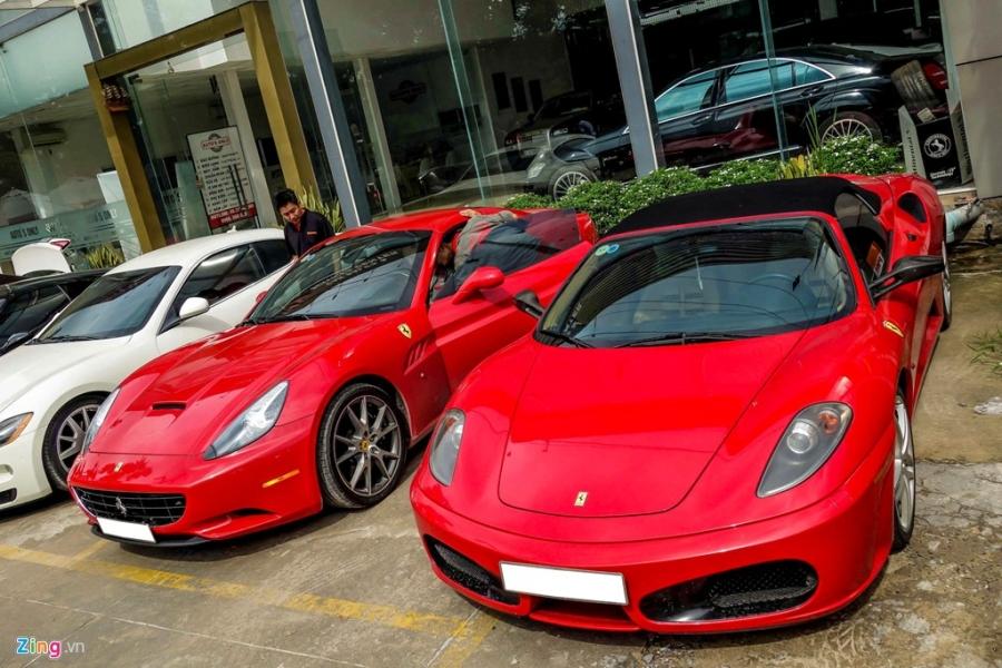 Dan Ferrari cua dai gia Sai Gon di bao duong hinh anh 5