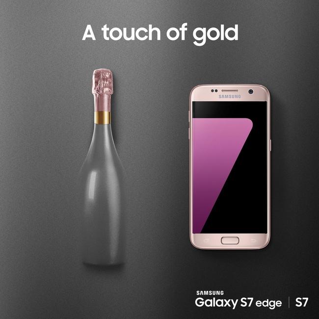 Galaxy S7 edge phiên bản hồng vàng chính thức ra mắt tại Việt Nam - Ảnh 1.