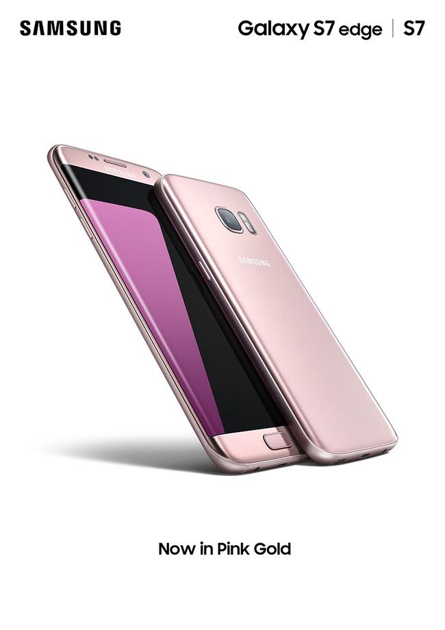 Galaxy S7 edge phiên bản hồng vàng chính thức ra mắt tại Việt Nam - Ảnh 2.