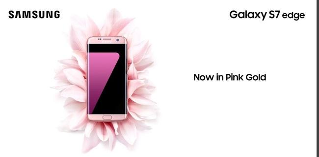 Galaxy S7 edge phiên bản hồng vàng chính thức ra mắt tại Việt Nam - Ảnh 3.