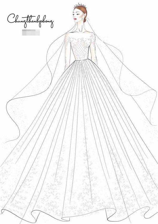 4 chiếc váy cưới của Kỳ Hân - 3