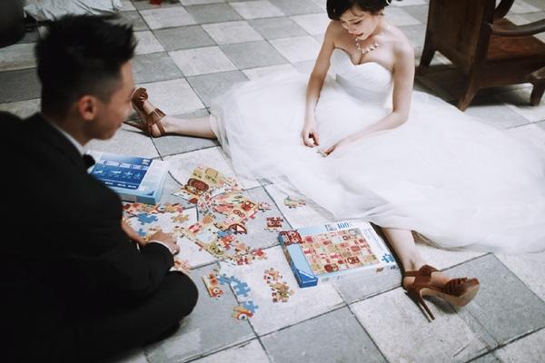 ảnh cưới hài hước