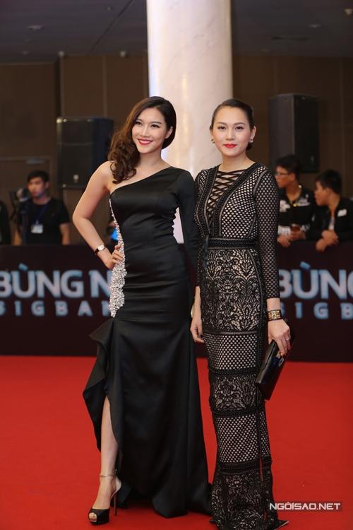 Phạm Anh Thư và Ngọc Thạch.