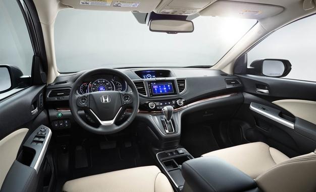 Honda CR-V 2017 với 7 chỗ ngồi nhưng vẫn đảm bảo sự thoải mái rộng rãi cho người ngồi