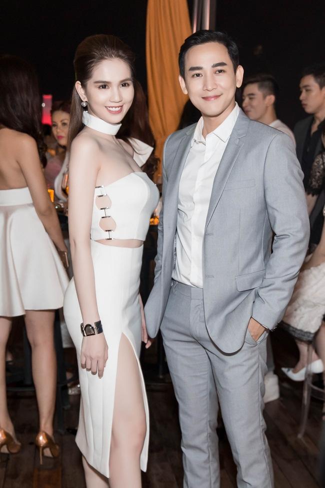 Ngọc Trinh diện cây trắng, tự tin đọ sắc bên hai Hoa hậu Hàn Quốc và Trung Quốc - Ảnh 5.