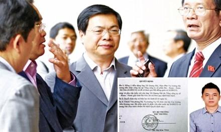 Nguyên Bộ trưởng Vũ Huy Hoàng và con ông-Vũ Quang Hải đều đã lên tiếng về vấn đề bổ nhiệm gây tranh cãi ở Sabeco