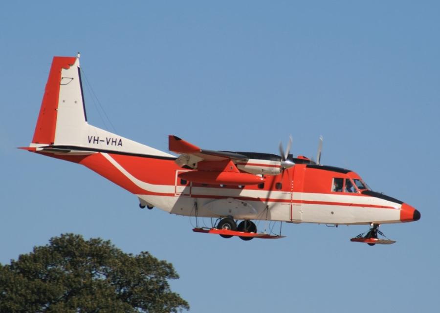 Phi cơ vận tải đa dụng hạng nhẹ CASA-212. Ảnh: Flickr Không quân Pháp