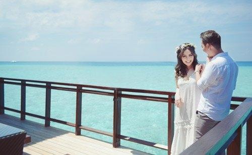 """anh cuoi lang man tai maldives cua """"hot girl dao keo"""" hinh anh 8"""