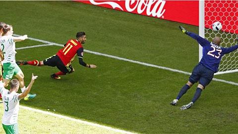 Tình huống bị từ chối bàn thắng đáng tiếc của Carrasco