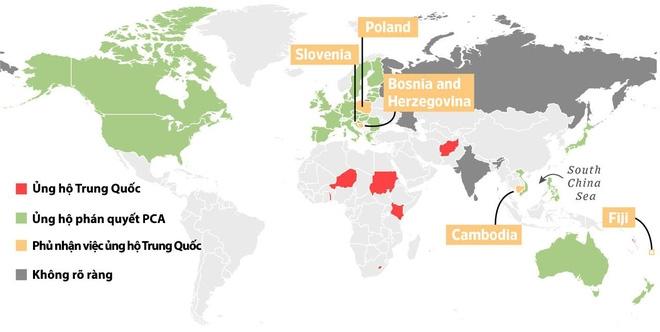 Chuyên gia Biển Đông mỉa mai danh sách 8 nước ủng hộ quan điểm TQ - Ảnh 1.