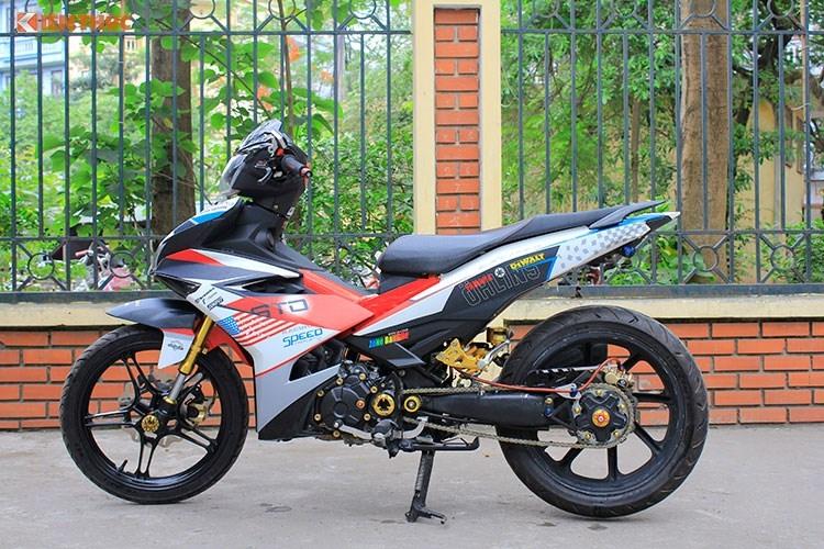 Dan choi Ha thanh chi gan 100 trieu do Yamaha Exciter 150-Hinh-2