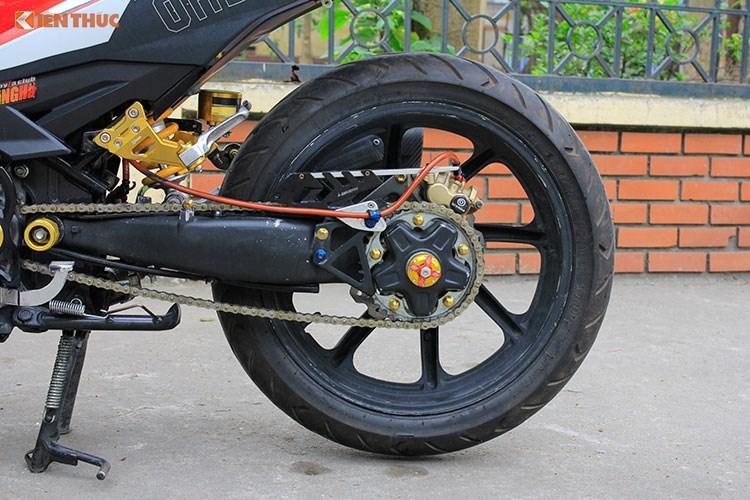Dan choi Ha thanh chi gan 100 trieu do Yamaha Exciter 150-Hinh-11