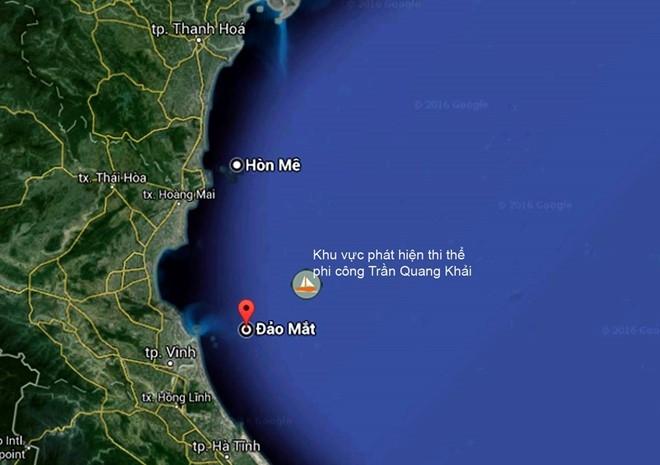Dua thi the phi cong Tran Quang Khai ve bo hinh anh 1