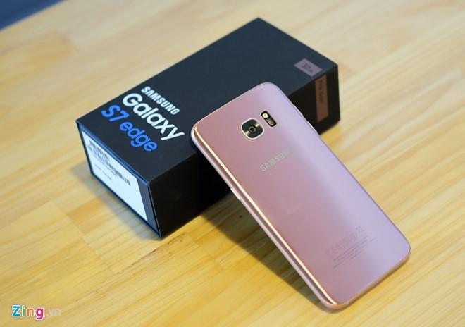 Mo hop Galaxy S7 edge mau hong chinh hang vua ban o VN hinh anh 8