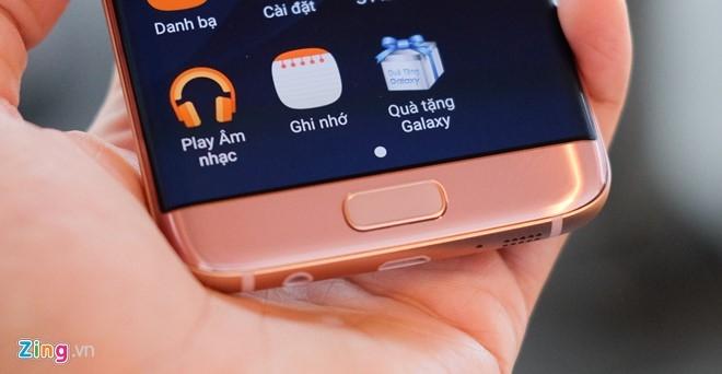 Mo hop Galaxy S7 edge mau hong chinh hang vua ban o VN hinh anh 10