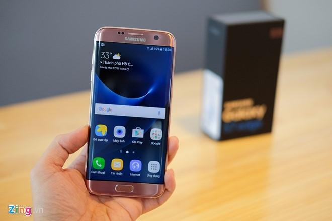 Mo hop Galaxy S7 edge mau hong chinh hang vua ban o VN hinh anh 11