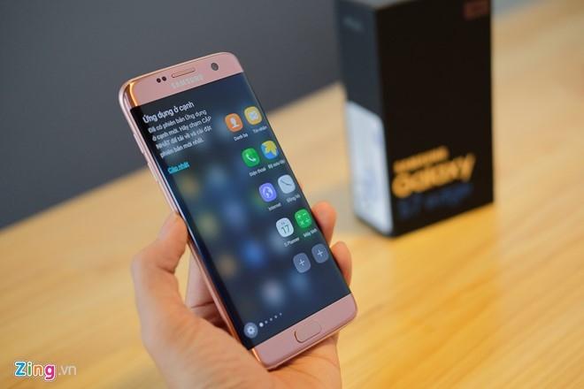 Mo hop Galaxy S7 edge mau hong chinh hang vua ban o VN hinh anh 12