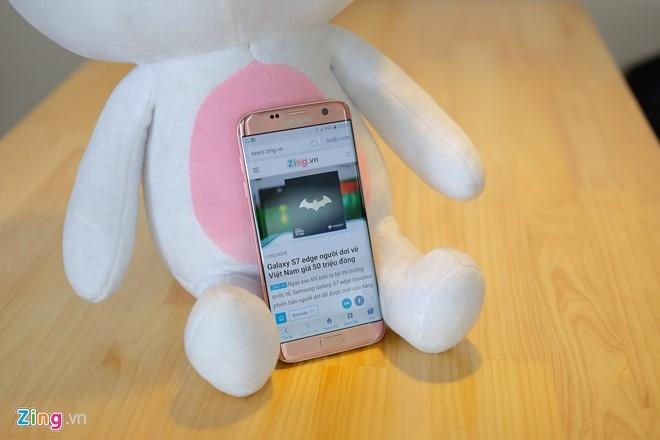Mo hop Galaxy S7 edge mau hong chinh hang vua ban o VN hinh anh 13