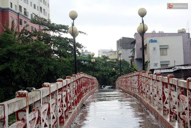 TP. HCM: Cầu mới xây xong 3 tháng, cấm đi lại vì... sợ người dân ngồi nhậu - Ảnh 3.