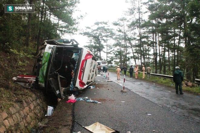 Vụ tai nạn đèo Prenn 7 người chết: 4 người đang nguy kịch - Ảnh 1.