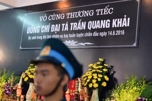 Le vieng phi cong Tran Quang Khai hinh anh 1