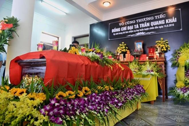 Le vieng phi cong Tran Quang Khai hinh anh 4