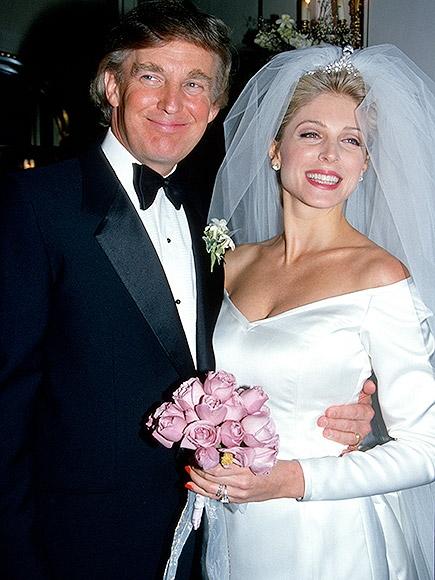 vợ của tỷ phú donald trump