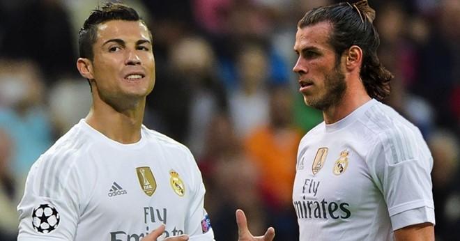 Ronaldo va Bale han dang rat... nho nhau hinh anh 3